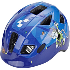Cube Pebble Helmet Kids blue universe